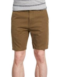Outerknown - 'roamer' Slim Fit Canvas Shorts - Lyst