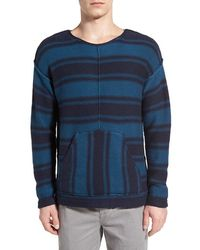 Outerknown - Stripe Cotton & Alpaca Pullover - Lyst