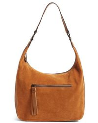 Phase 3 - Suede Hobo - Lyst