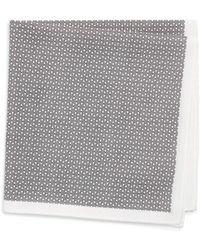 Calibrate - Octagon Print Pocket Square - Lyst