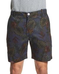 Descendant Of Thieves | Floral Print Reversible Woven Shorts | Lyst