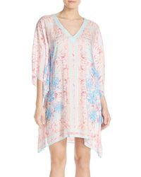 Lilly Pulitzer - Lilly Pulitzer Print Woven Caftan - Lyst