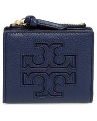 Tory Burch - 'mini Harper' Leather Wallet - Lyst