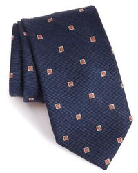 Strong Suit - Geometric Wool & Silk Tie - Lyst