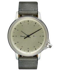 Miansai - 'm12' Leather Strap Watch - Lyst