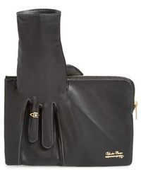 Undercover - Leather Glove Clutch - Lyst
