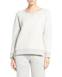 Daniel Buchler - Quilted Cotton Pullover - Lyst