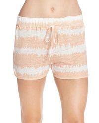 Daniel Buchler - Print Linen Pajama Shorts - Lyst
