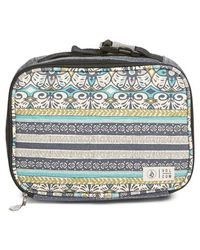 Volcom | Cotton Canvas Print Lunchbox | Lyst