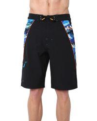 Rainforest - 'avatar Splice' Board Shorts - Lyst