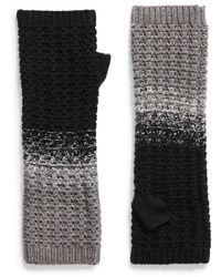 Frye Colorblock Arm Warmers - Black