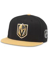 726c5a44b1e54 American Needle - Blockhead Las Vegas Golden Knights Snapback Baseball Cap  - Lyst