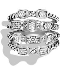 David Yurman - 'confetti' Ring With Diamonds - Lyst