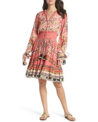 Hemant & Nandita - Hemant & Nandita Short Cover-up Dress - Lyst