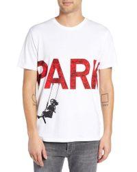 ELEVEN PARIS - Parking Print T-shirt - Lyst
