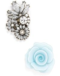 BaubleBar - 'skater' Brooches (set Of 2) - Lyst