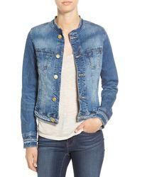 Jag Jeans - 'dixie' Denim Jacket - Lyst