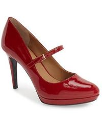 CALVIN KLEIN 205W39NYC - 'paislie' Mary Jane Pump - Lyst