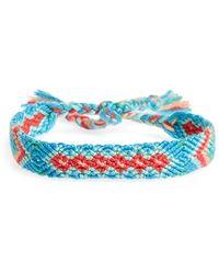 Half United - Friendship Bracelet - Lyst