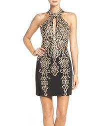 JVN By Jovani - Embellished Body-con Minidress - Lyst