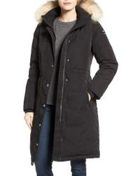 Pajar - Brooke Long Down Parka With Genuine Fox Fur Trim - Lyst