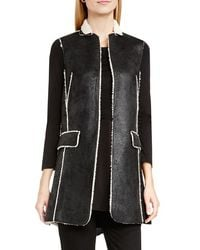 Two By Vince Camuto - Faux Shearling Vest - Lyst