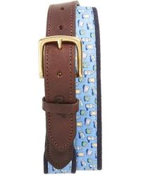 Vineyard Vines - Tequila & Lime Belt - Lyst