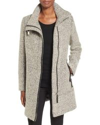 CALVIN KLEIN 205W39NYC - Wool-Blend Boucle Walking Jacket - Lyst