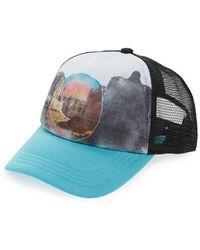 Volcom - 'carefree' Trucker Hat - Lyst