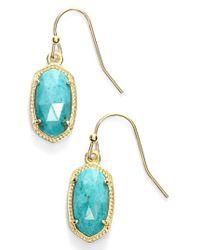 Kendra Scott - Lee Small Drop Earrings - Lyst