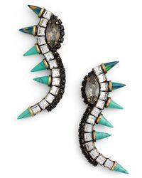 Lionette - 'orian' Spike Linear Drop Earrings - Lyst
