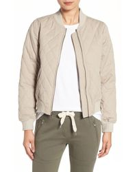 Sincerely Jules | Quilted Bomber Jacket | Lyst