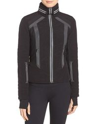 Blanc and Noir - Hooded Water Resistant Jacket - Lyst