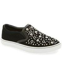 Sam Edelman - Paven Embellished Slip-on Sneaker - Lyst