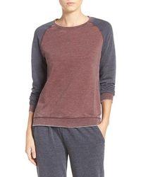Daniel Buchler - Colorblock Washed Terry Pullover - Lyst