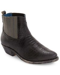 Golden Goose Deluxe Brand - Crosby Faux-Snakeskin Chelsea Boots - Lyst