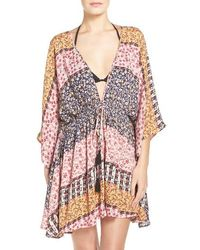 Hinge - Floral Cover-up - Lyst