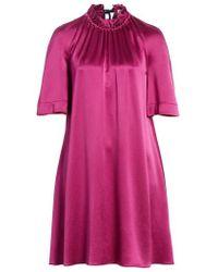 ROKSANDA - Daena Colorblock Cuff Silk Dress - Lyst