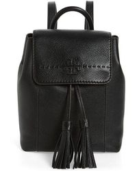Tory Burch - Mcgraw Leather Backpack - - Lyst