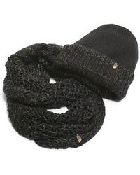 The North Face - The Shinsky Knitting Club Boxed Infinity Scarf & Beanie - Lyst