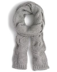 J.Crew   Cable Knit Scarf   Lyst