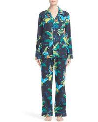 Marc Jacobs - Parrot Print Cotton Pajamas - Lyst