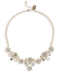 Natasha Couture - Crystal Statement Necklace - Lyst