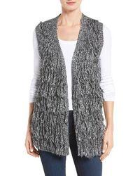 Dex - Fringe Sweater Vest - Lyst
