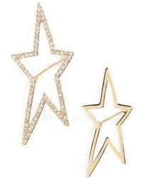 TOPSHOP - Star Brooches - Lyst