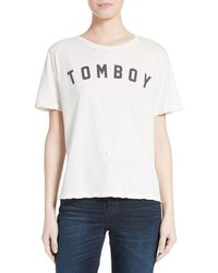 AMO - Tomboy Graphic Tee - Lyst
