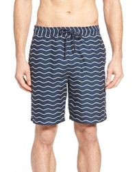 Surfside Supply - Wave Print Volley Shorts - Lyst