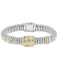 Lagos - 'diamonds & Caviar' Diamond Rope Bracelet - Lyst
