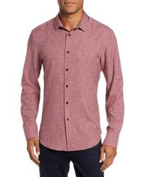 Vince Camuto | Trim Fit Performance Sport Shirt | Lyst