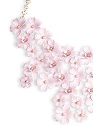 Serefina - Cherry Blossom Statement Necklace - Lyst